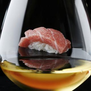 鮨とワインの可能性を