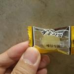 62654361 - 韓国おこげ(ヌルンジ)味の飴