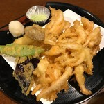 62655464 - 白魚の天ぷら