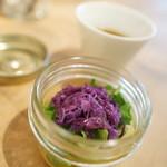 SAPPORO FLOWER &CAFE - サラダ