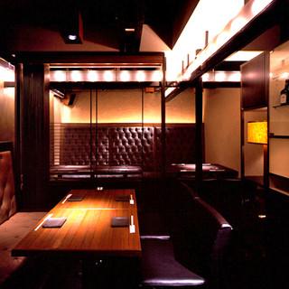 貸切OK!ラグジュアリー空間でゆったりと京料理を。