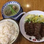 味の牛たん 喜助 - 牛たん炭火焼定食【1,674円】