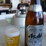 横濱一品香 - 今日は夜も飲むからビール中瓶で我慢です。