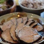 ネマルカフェ - 豚の紅茶煮定食