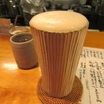 ishiusuhikiteuchikyourakutei - 「生ビール」