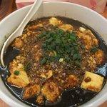 白湯麺屋 - 四川麻婆坦々麺(黒胡麻)2011/01