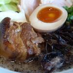 麺屋 MANI - 熊本ラーメン黒ダブル¥1000