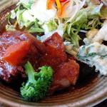 62664450 - 豚肉のデミグラス煮込み