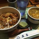 盛喜 - 親子丼セット(ご飯少なめ&カレーうどん選択)800円税込