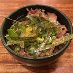 神戸ラーメン 第一旭 - ミニ丼(神戸っ子丼 小サイズ)300円