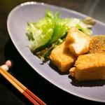えんがわカフェ - カマンベールチーズ麩ライ