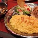 チャイカフェ バガヴァッド - 豚角煮の焼きカリー