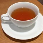 幸せのパンケーキ - セットドリンクの紅茶☆
