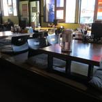 ラーメン福たけ - お座敷席の様子