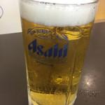 湯游ランドはなわ - 生ビール