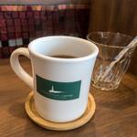ライトハウスコーヒー - セットドリンクの「ホットコーヒー」(+170円)。