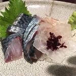 62670027 - 泳ぎサバ寿司 900円。半端じゃなく活きがいいです!