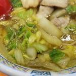 どうとんぼり神座 - 白菜