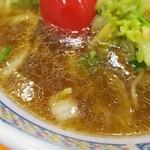 どうとんぼり神座 - スープ