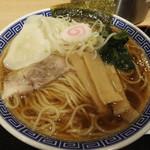舎鈴 - 水餃子麺中盛り(650+100円)