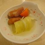 レストラン白根 - ミニロールキャベツのポトフ仕立て
