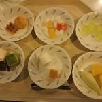 レストラン白根 - デザート各種