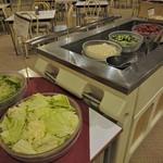 レストラン白根 - サラダコーナー