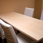 麻布十番 ふくだ - 個室テーブル席