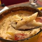 レストラン マルタ - 牡蠣のクリームチーズオーブン焼き1000円