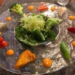 レストラン マルタ - ランチのサラダ