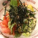 たけとんぼ - ラーメンサラダ