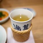 味満ん - ヒレ酒