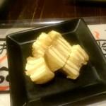 居酒屋 殿(シンガリ) - いぶりがっこクリームチーズ:400円