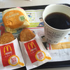 マクドナルド - 料理写真:エッグマックマフィンセット 追加で 1個のハッシュポテト