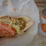 ケバブアップ アルル - ケバブサンドとセットのオレンジジュース 税込500円