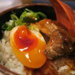 あんぼう - 豚煮こみ丼300円