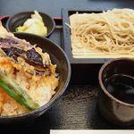 62679629 - 天丼とセイロ蕎麦のセット