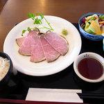 角車 - 料理写真:ローストビーフセット