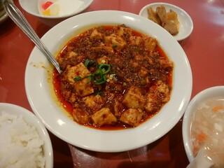 京華樓 - 陳麻婆豆腐ランチ