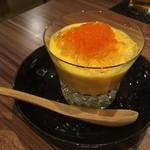 日本酒と旨い刺身 和酒バル 奏 - 人参のムース