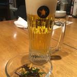 ぽど - 生ビール380円とお通し300円
