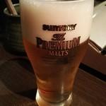 龍 - 生ビール