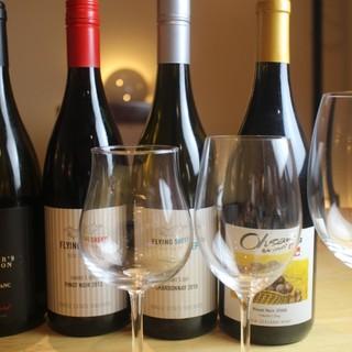 毎月変わるワイン~ご来店のたびに新しい味に出会えます~