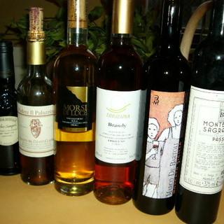 【ソムリエがいる】こだわりのワイン200種類!