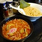 大勝軒まるいち - 「辛野菜つけ麺」