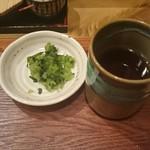 あかし - 漬物とお茶
