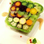 エン-トラヴァイエ - 彩り野菜のテリーヌ 夏季限定