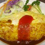 洋食香味亭 - 料理写真:オムライス¥990