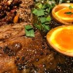 虎春屋 - 特製牛バラ坦々麺2