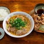 ラーメンジャイアン - 料理写真:ガッツリ定食A